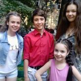 С Машей Паротиковой и Катей Сушат