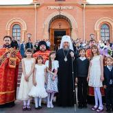 с митрополитом Астанайским и Казахстанским