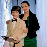 С заслуженной артисткой РК Светланой Айтбаевой
